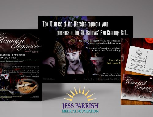 Jess Parrish Medical Foundation Event Materials